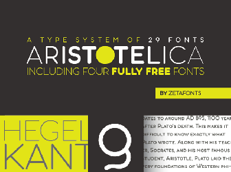 Download 1 free aristotelica display trial xlt fonts