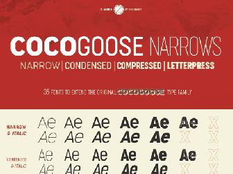 Download 2 free cocogoose fonts | fontsme com