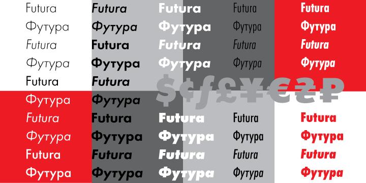 Download Futura PT font | fontsme com