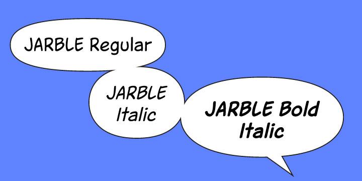 Download Jarble font | fontsme com
