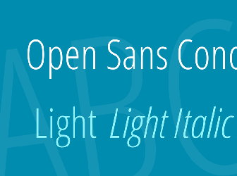 Download 1 free open sans condensed light fonts   fontsme com