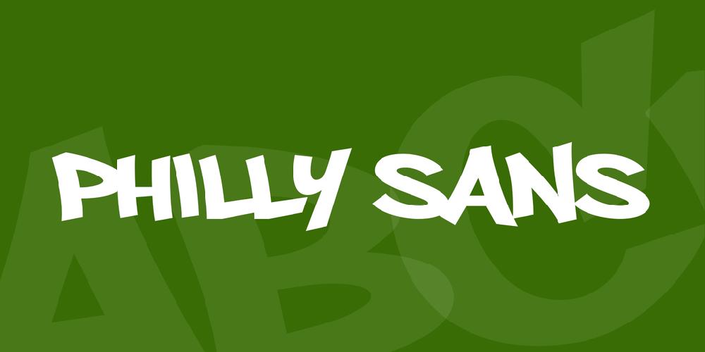 Download Philly Sans font   fontsme.com