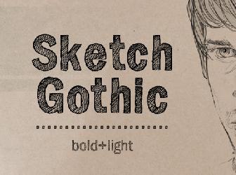 Download Sketch Gothic font | fontsme com